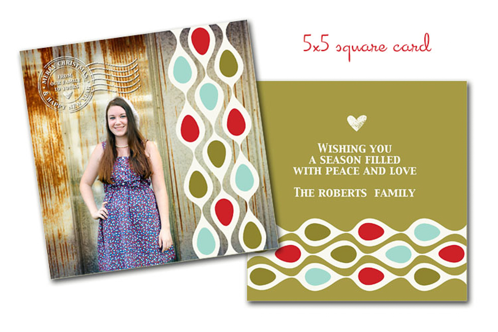 Personalized Christmas Cards Krysteena Marie Photography