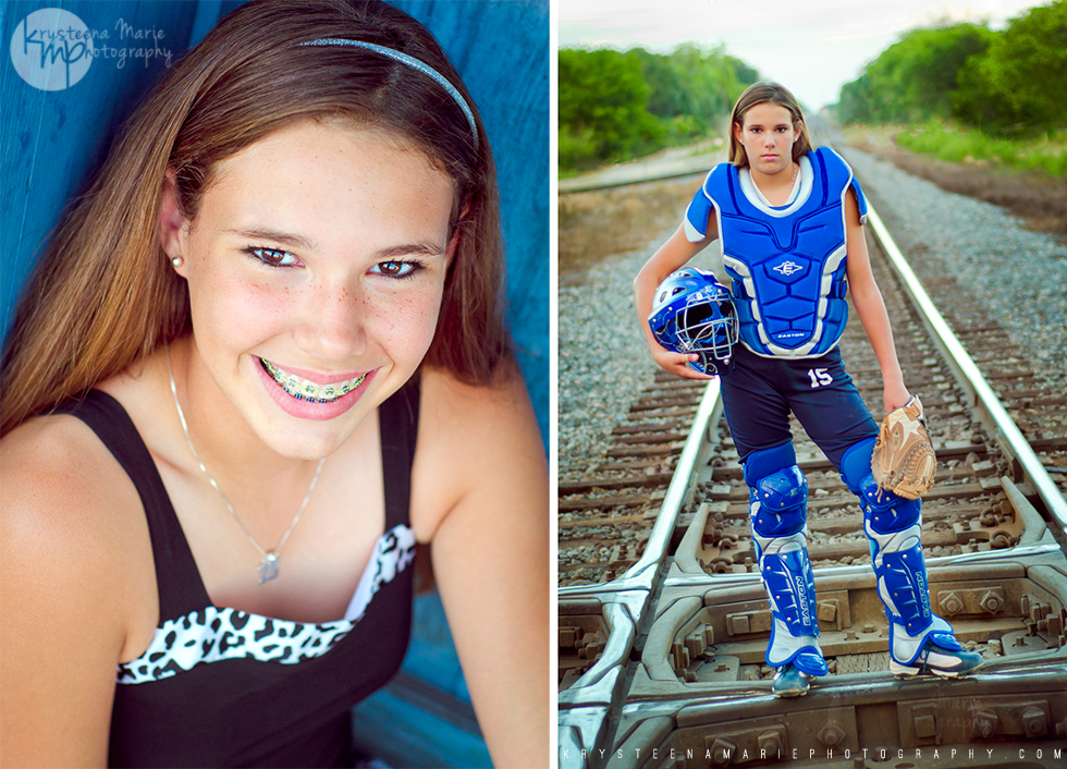 Beka's softball portraits 2012 | Krysteena Marie Photography