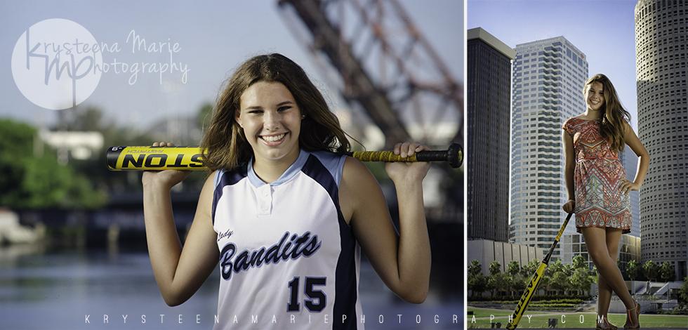 Beka's softball portraits 2013 | Krysteena Marie Photography