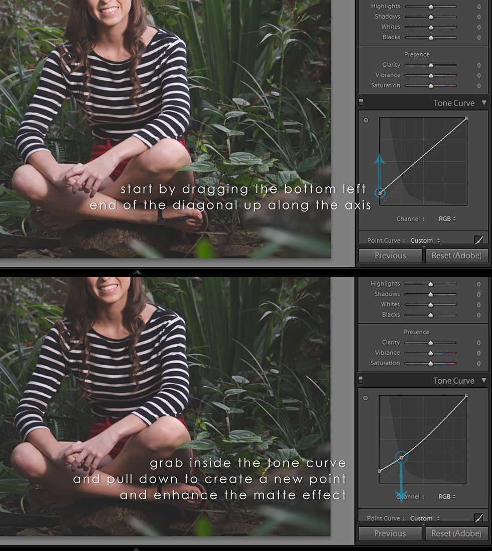 How to Create a Matte Effect in Lightroom | Krysteena Marie Photography