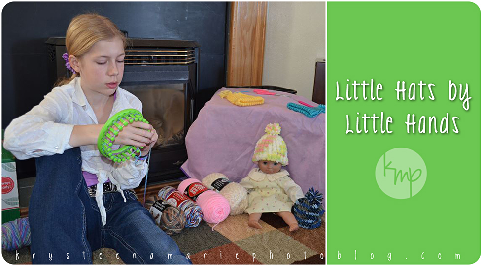 Little Hats by Little Hands,12 year old Chrissy knits hats to donate to local hospitals | Krysteena Marie Photoblog